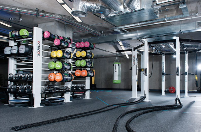 Oasis Gym Grimsby Functional area