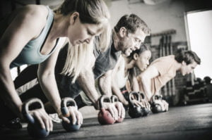 Oasis Gym Grimsby Training Session
